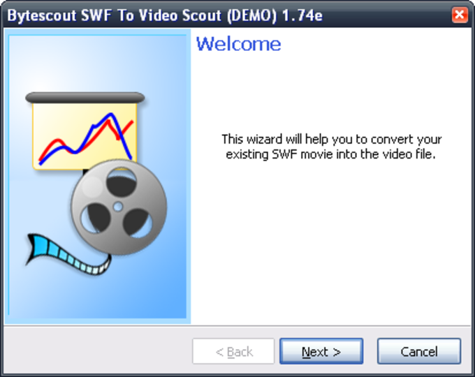 Bytescout SWF To Video Scout