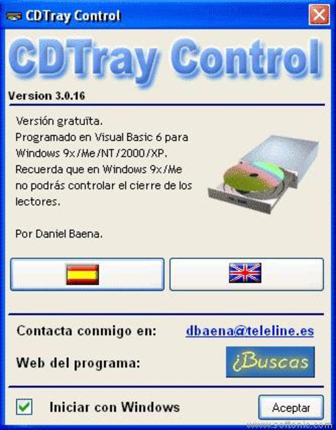 CDTray Control