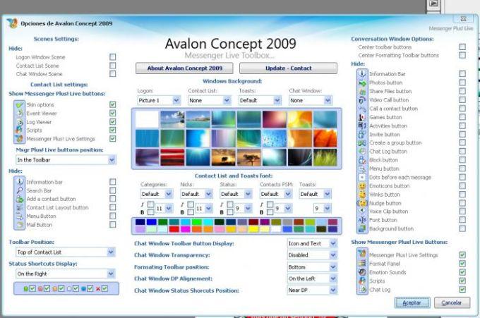Avalon Concept 2009