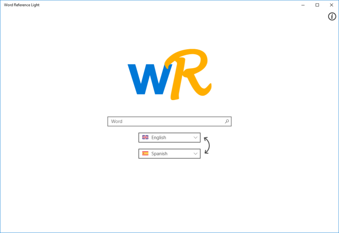 Word Reference Light
