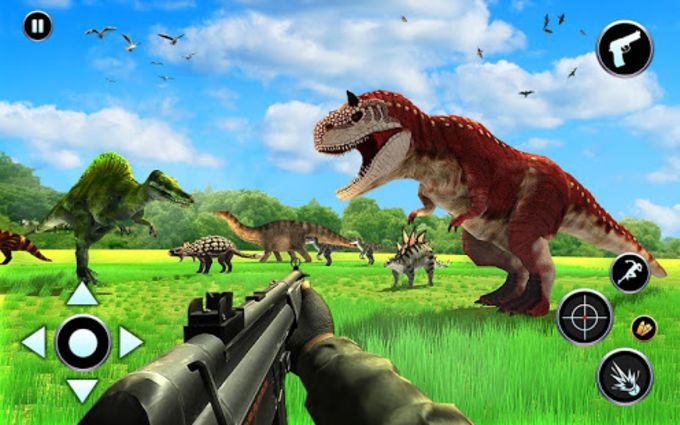 Dinosaur Hunter Free Wild Jungle Animals Safari