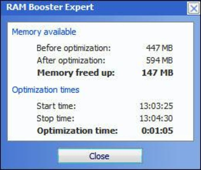 RAM Booster Expert
