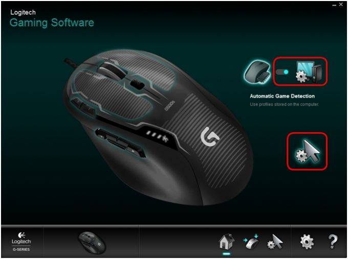 Logitech Gaming Software pour Windows XP