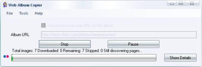 Web Album Copier