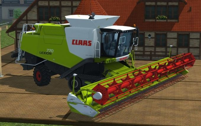 Claas Lexion 770 TerraTrac Package