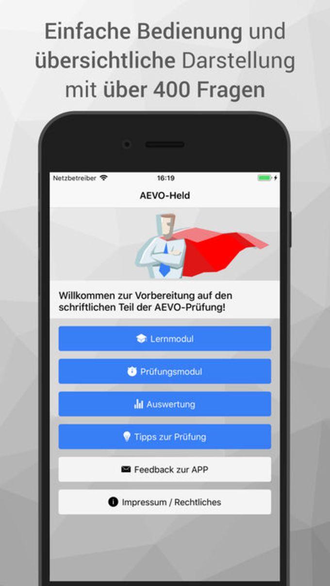 AEVO-Held Prüfungsvorbereitung