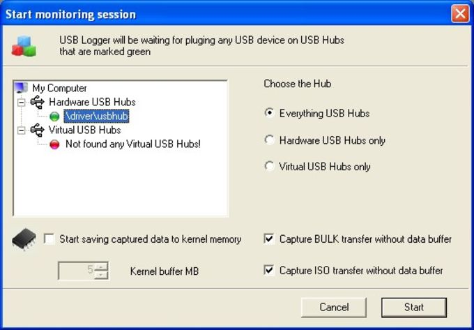 Simple USB Logger