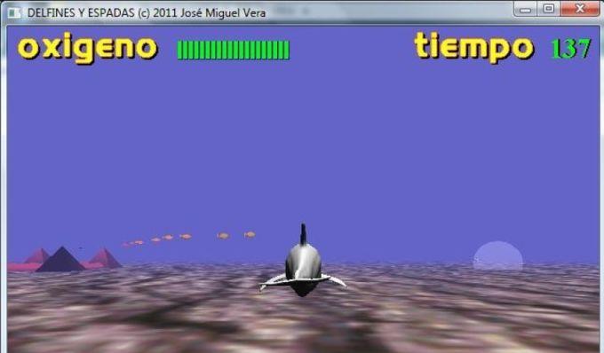 Delfines y espadas