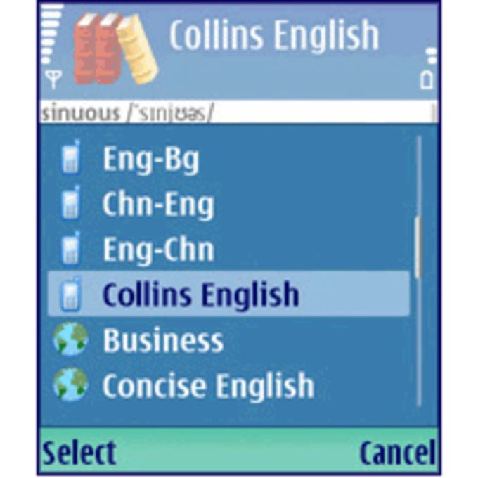 MSDict Collins English Dictionary