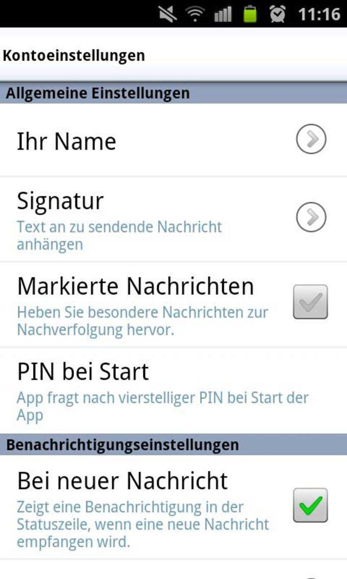 WEB.DE Mail  Cloud