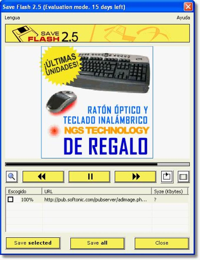 Save Flash - Descargar