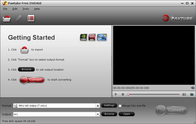 Pavtube Free DVDAid