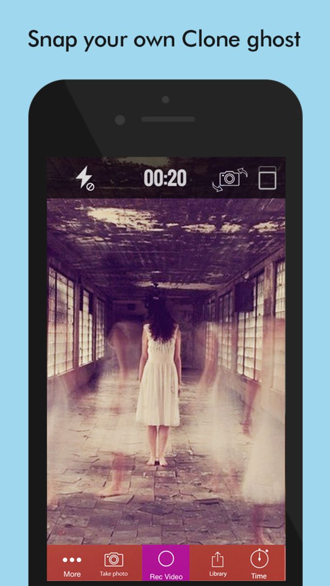 Ghost Lens+Selfie Photo Video Editor,Awesome Collage Maker Plus Pandora Filter Blender