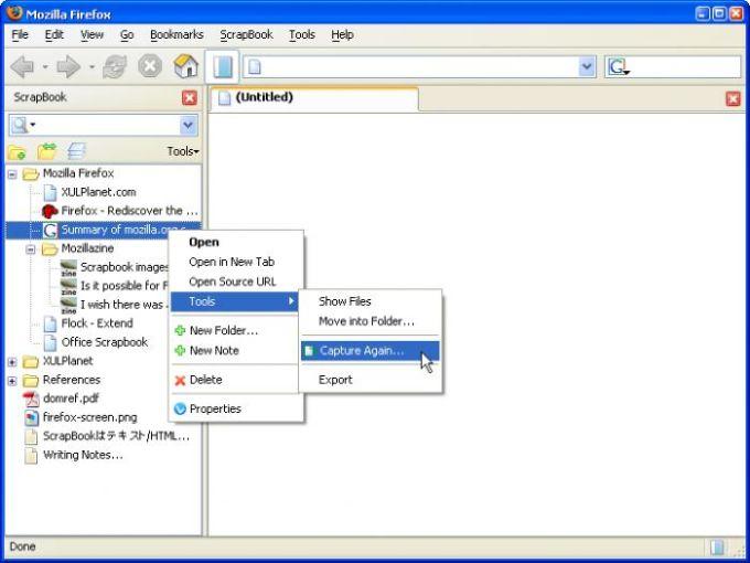 ScrapBook Plug-in pour Firefox