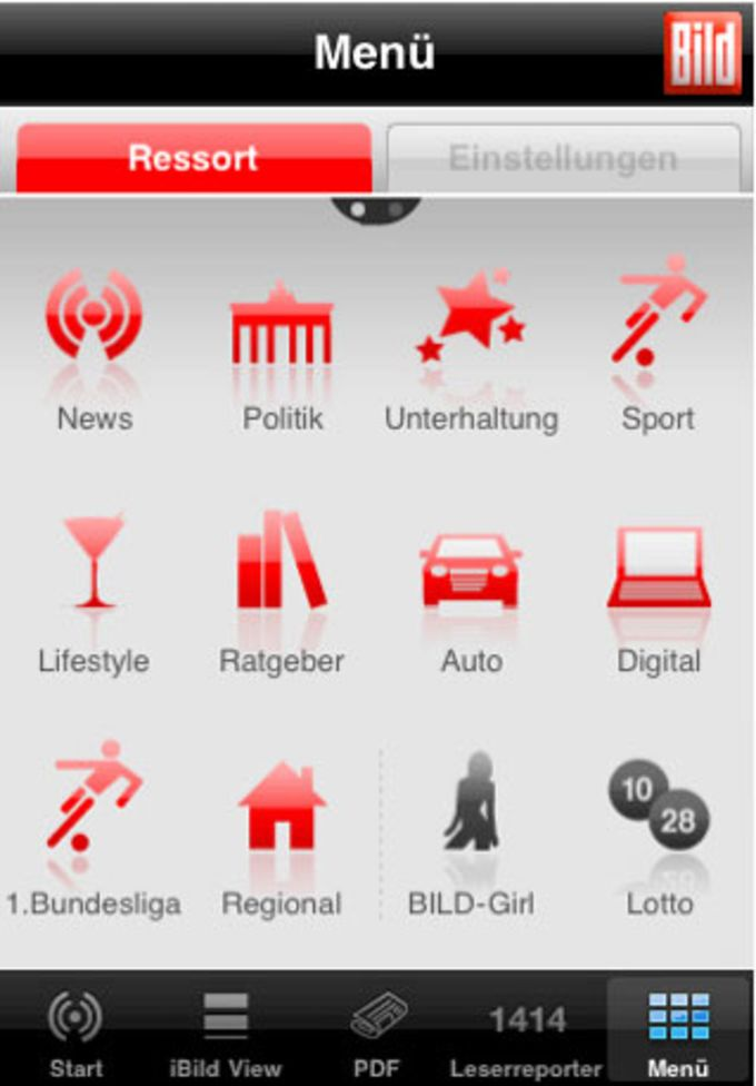 BILD iPhone-App