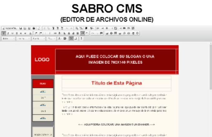 SabroCMS
