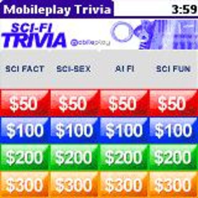 Sci-Fi Trivia, from Mobileplay