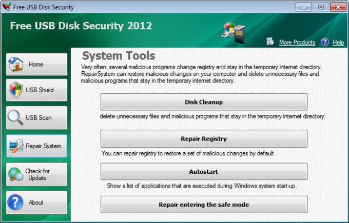 Free USB Disk Security