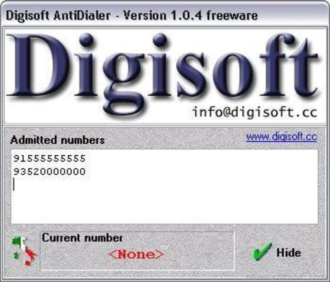 Digisoft AntiDialer