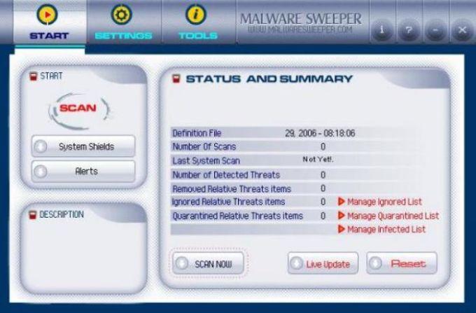 Malware Sweeper