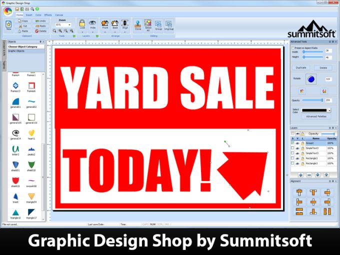 Graphic Design Shop
