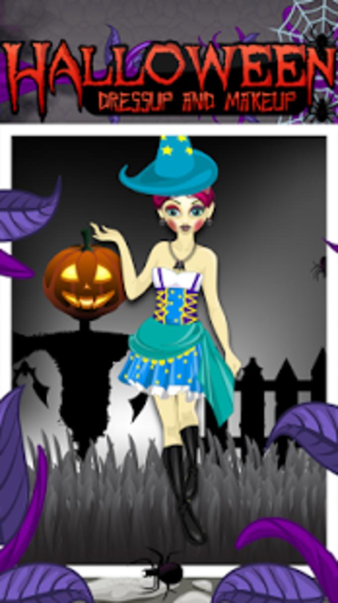Maquillaje de Halloween y Dres