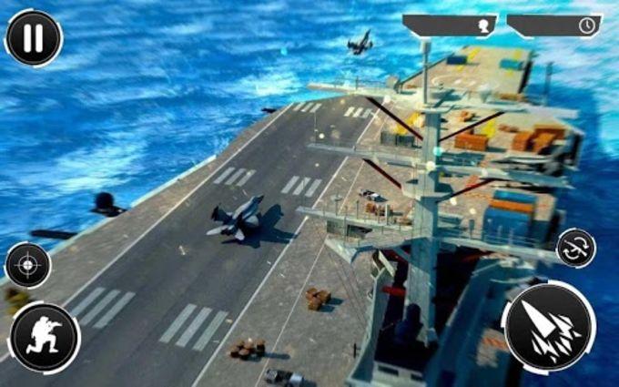 Navy Gunner Shoot War PRO