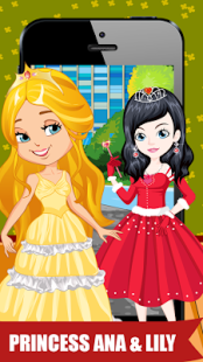 Gorgeous Princess Dressup
