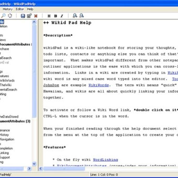 wikidPad