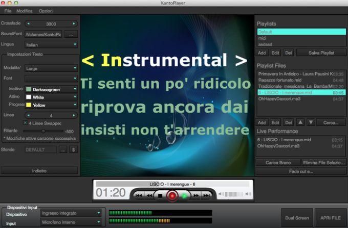 Kanto Karaoke Player for Mac
