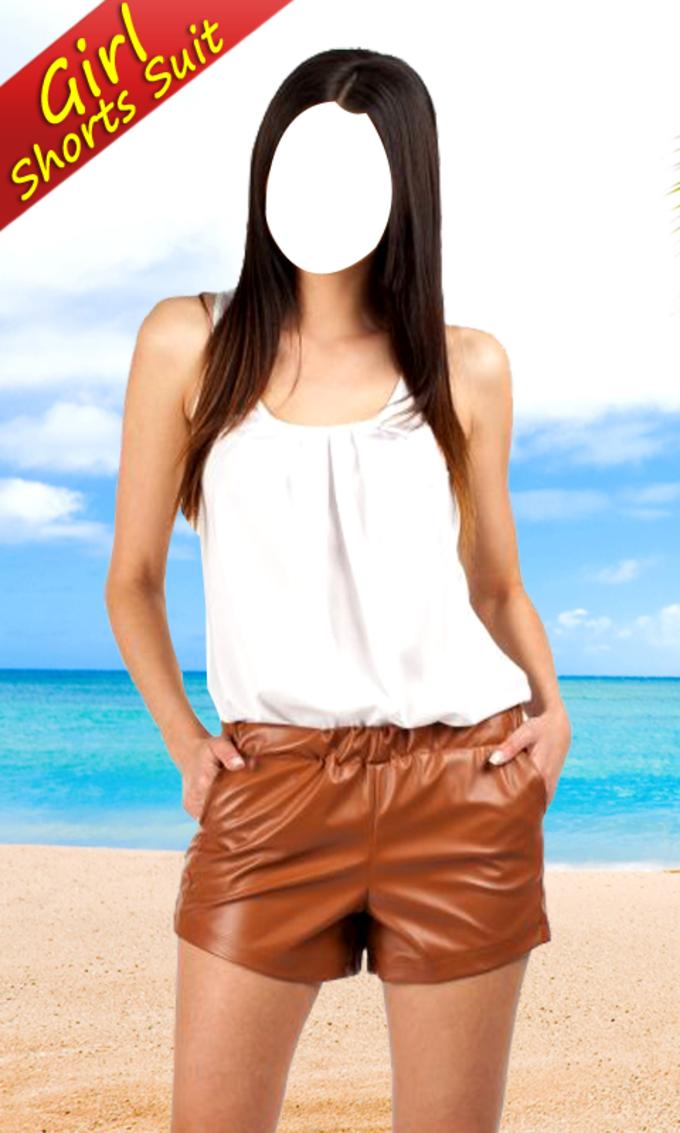 Teenage Girl Shorts Suit