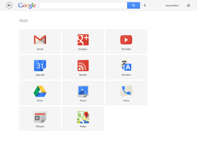 Google voor Windows 10