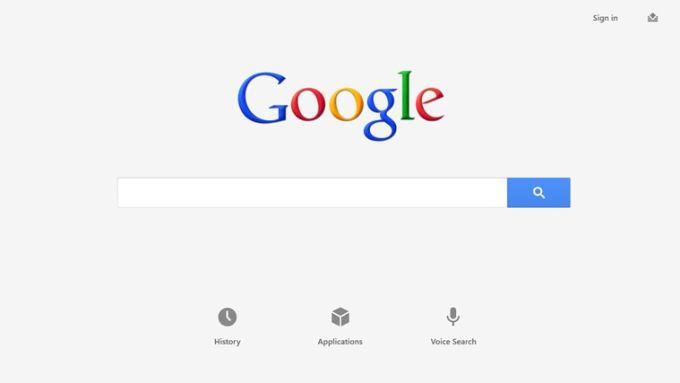 Google Search per Windows 10