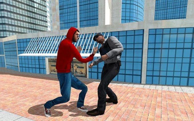 Fidget Spinner Frisbee Hero vs Crime City Gangster