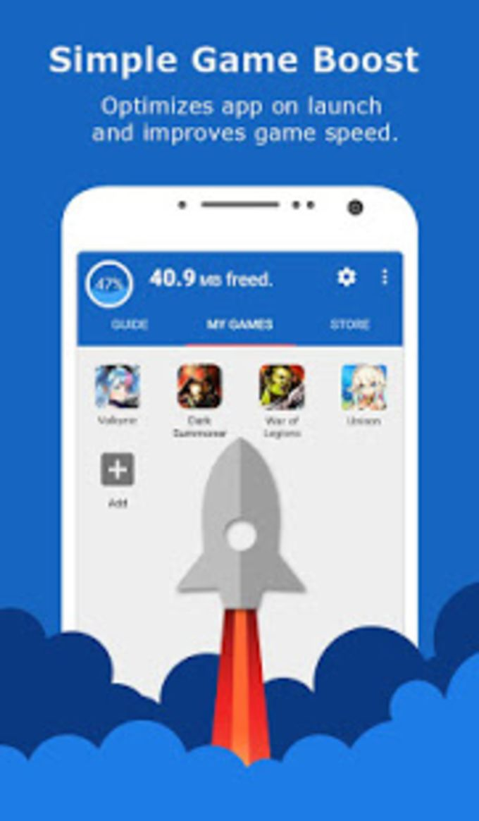 Free Memory ClearGame Boost Master --Speed Up-