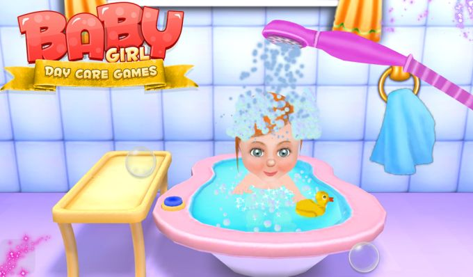 Baby Girl Day Care Games