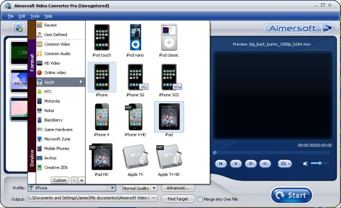 Aimersoft 3GP Converter Suite