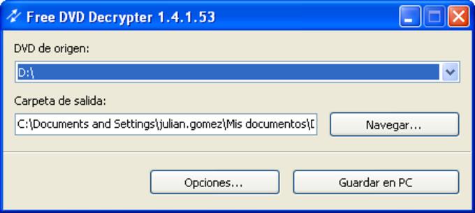 Free DVD Decrypter