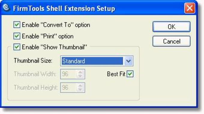 FirmTools ShellExtension