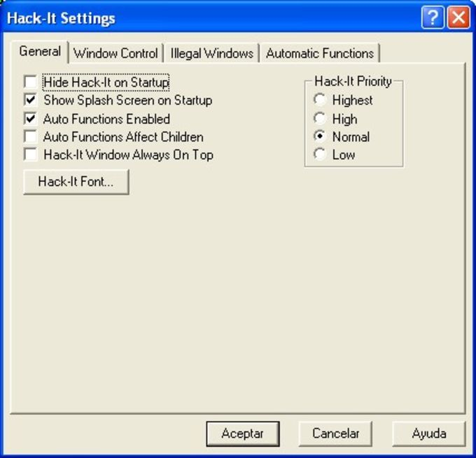 Download Hack-It - free - latest version