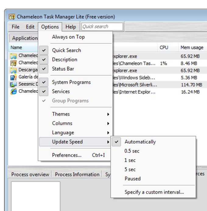 Chameleon Task Manager