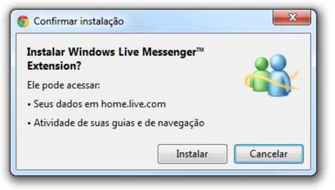 Windows Live Messenger Extension