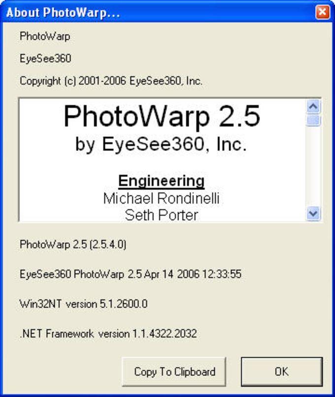 PhotoWarp