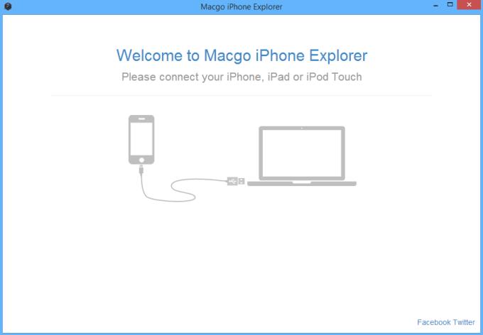 Macgo Free iPhone Explorer
