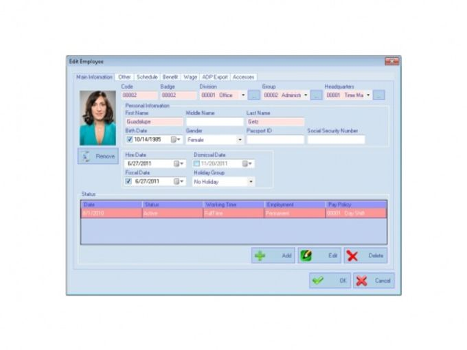 AMG Employee Attendance Software