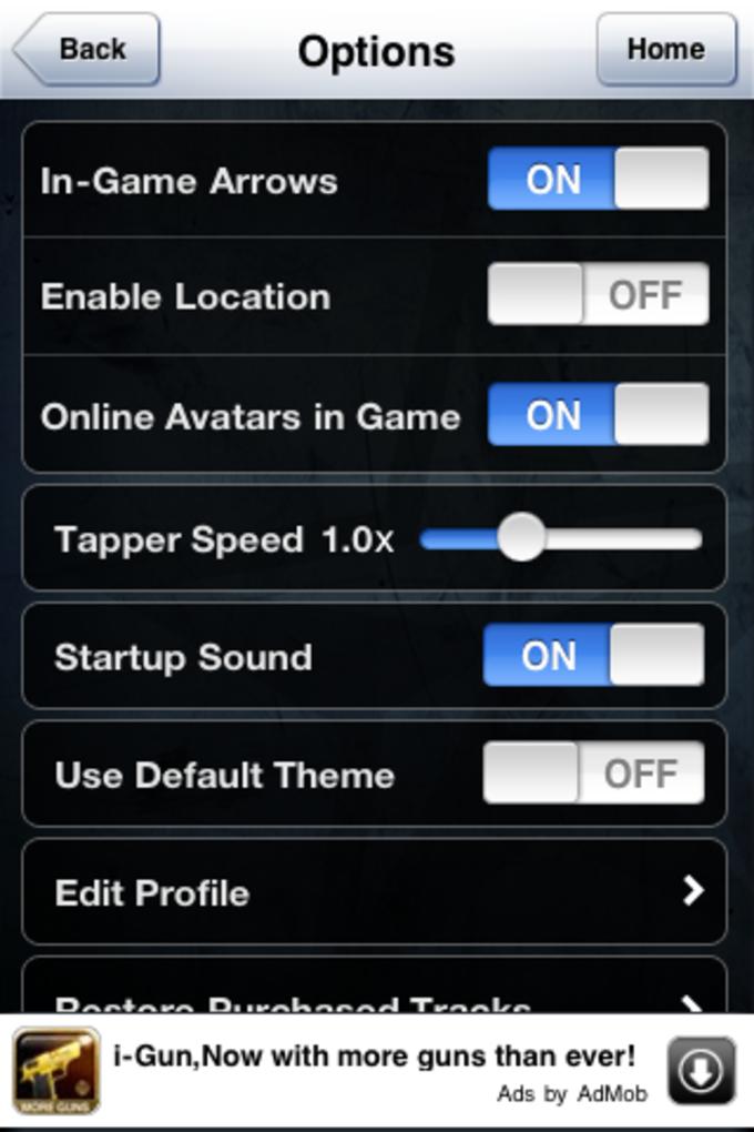 Tap Tap Revenge 4 - AppAddict