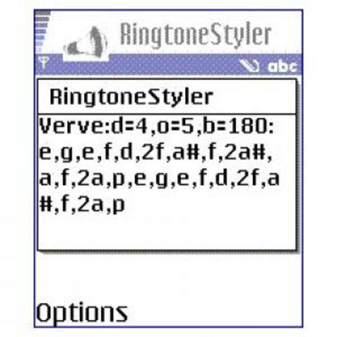 Ringtone Styler