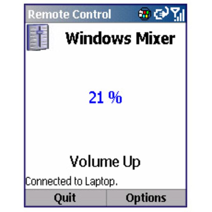 Remote Control for Windows Mobile