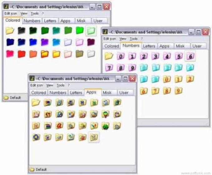 FolderIcon XP