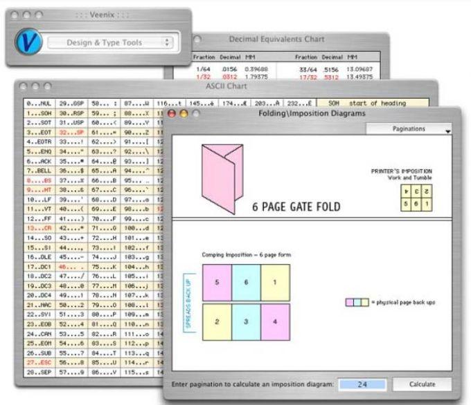 Veenix: Design Type Tools